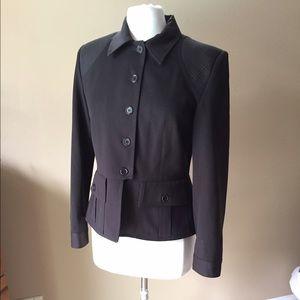 Vertigo Paris Jackets & Blazers - Vertigo Paris Brown Jacket Blazer