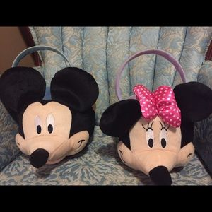 Other - Mickey & Minnie Mouse baskets