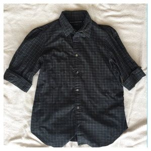 Ralph Lauren Plaid button down blouse