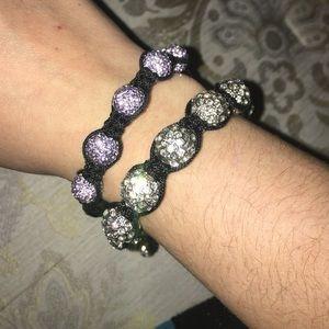 Jewelry - Bedazzled bracelets