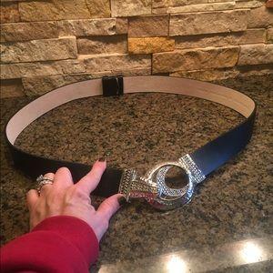 Chico's Accessories - Chico's Black Belt
