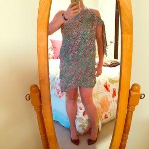 BCBGMaxAzria Dresses & Skirts - BCBG MaxAzria One Shoulder Party Dress