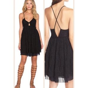 FREE PEOPLE NICOLETTE LACE DRESS