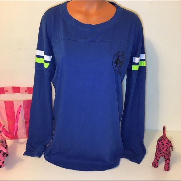 PINK Victoria's Secret - NEW PINK VS OPEN BACK LONG SLEEVE SHIRT ...