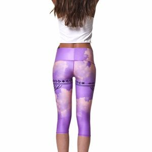 58354f5c36d94 Teeki Pants | Purple Haze Goddess Capri | Poshmark