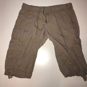 Pants - 🌴Angel Kiss Cargo khaki Shorts