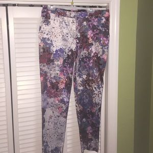 H&M floral design pants