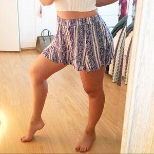 Lush Pants - SALE* Lush Flared Bottom Shorts