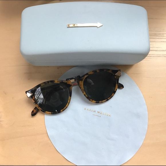 7902458e785 Karen Walker Accessories - Karen Walker Helter Skelter Sunglasses