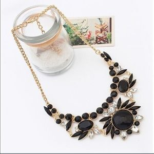 Jewelry - NEW BLACK BUBBLE NECKLACE