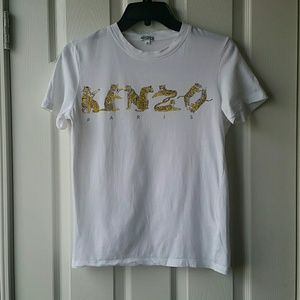 15550dca5c EUC Vintage Kenzo Paris Tiger T-shirt Small