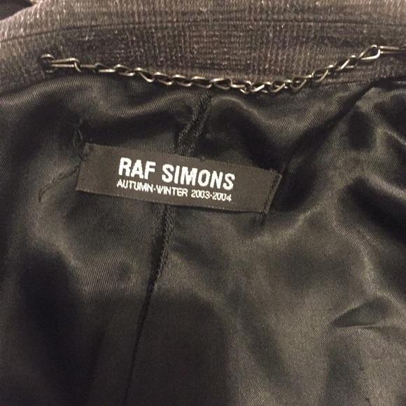 Raf Simons Jackets & Coats - Raf Simons 2003-2004 size 48 evening coat!