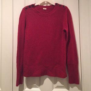 J.Crew crewneck sweater - S