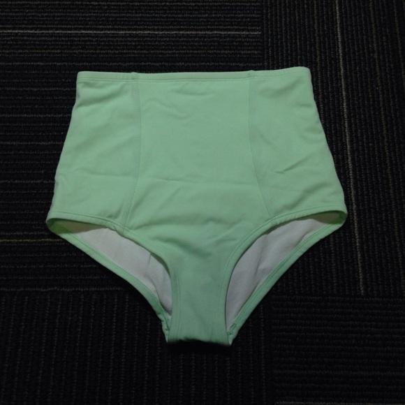9fe4d41f9b799 Urban Outfitters Mint High Waisted Bikini Bottoms.  M_5830d495620ff774a0049506