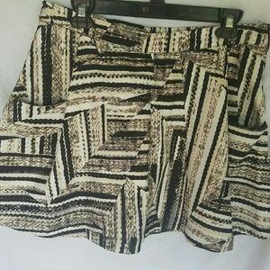 Dresses & Skirts - 💝A.n.a. Large Petite Skirt Mini Pockets