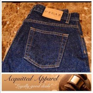 Oscar de la Renta Denim - 🆕 NWOT Oscar De La Renta high rise jeans