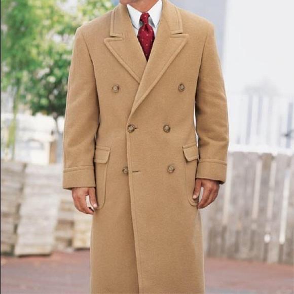 1529b85c0378 Polo Ralph Lauren Camel Hair British Topcoat 44R. M 5830e5ed3c6f9faa4b04d0e8