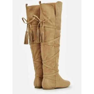 Shoes - new camel knee high boots