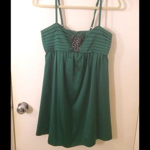 BCBG Emerald Green Dress