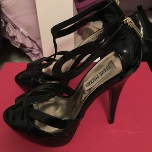 Steve Madden Staple Mary Jane Patent Leather Heels