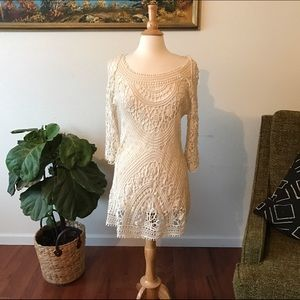 Dresses & Skirts - Crochet coverup / dress