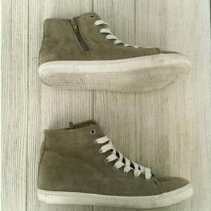 High top sneakers - worn once