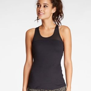 Threads 4 Thought Black Mesh Workout Tank