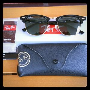 91f29474bc Ray-Ban Accessories - Ray-Ban Clubmaster Black Friday Sale! 💯 Authentic