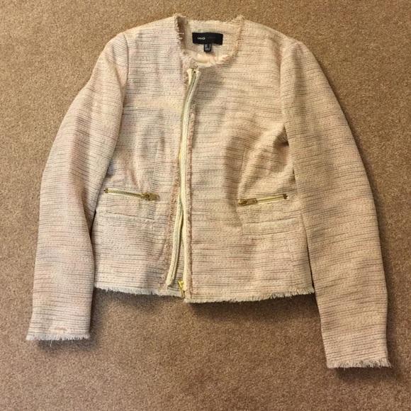 Mango Jackets   Coats   Tweed Jacket   Poshmark 488b4c6bbe1b