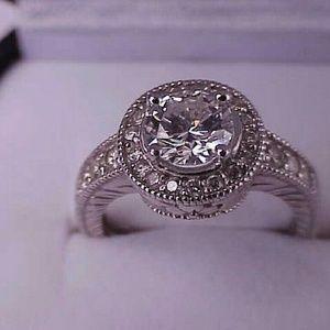 Jewelry - $14879 14k white gold 1.57ct diamond ring w/apprai