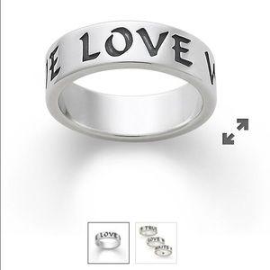 """James Avery Jewelry - """"True love waits"""" James Avery Ring"""