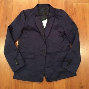 J. Crew Collection Navy Blazer NWT size 6