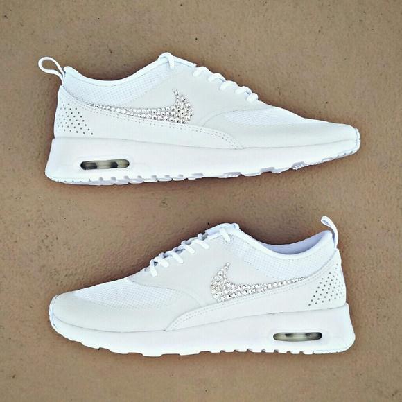 91475f4ab07b09 Swarovski Crystal Bling Nike Air Max Thea