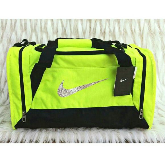 106e98eceed Nike Bags   Swarovski Crystal Bling Brasilia 6 Duffle Bag   Poshmark