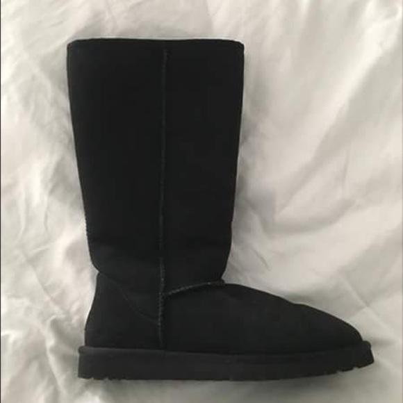 e0fc4c00e5f Ugg Tall Classic Boots, black, women's size 9