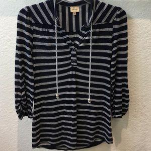 Ella Moss striped shirt