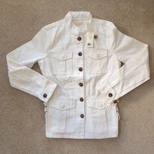 Tory Burch Jacket - White - Small