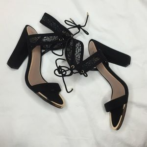 Call It Spring Shoes - Brand new black Suede Disney Call It Spring Heels