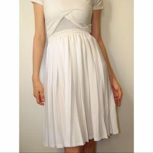 Toupy Paris Dresses & Skirts - High Waist Pleated Skirt