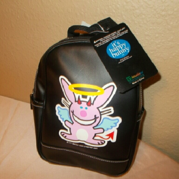 It s Happy Bunny Small Backpack 597afad9f08d6