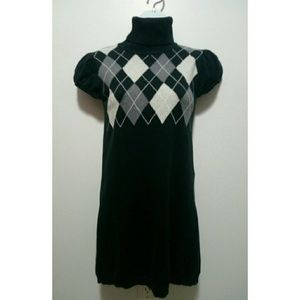 Sweater Project  Sweaters - Sweater Project argyle sweater dress