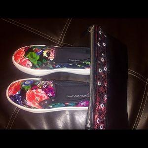 Platform Slip On Sneakers (Multi)