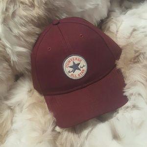 cdf00933270 Converse Accessories - Burgundy Converse baseball cap. Price firm