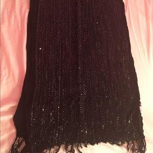 New York & Company Accessories - New York & Co. black scarf
