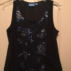 SALE!! 🔥XL Simply Vera Wang sequin blouse