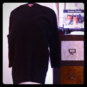 Sweaters - Black Merona cable sweater size medium.