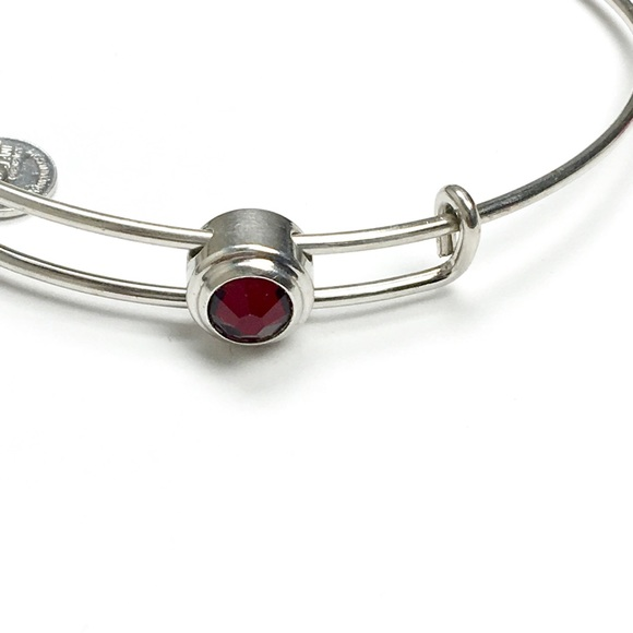 5419e746d4 Alex and Ani Jewelry | Alex Ani Slider Gemstone July Birthstone Ruby ...