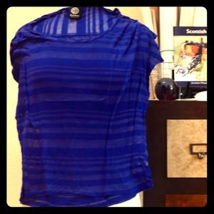 Tops - Bobeau striped layering top.