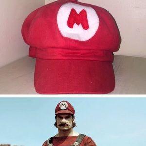 Nintendo Other - Mario Hat HANDMADE