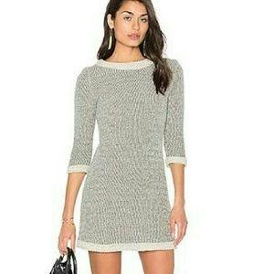 Amour Vert Dresses & Skirts - 'Emma' Herringbone Cotton Sheath Dress